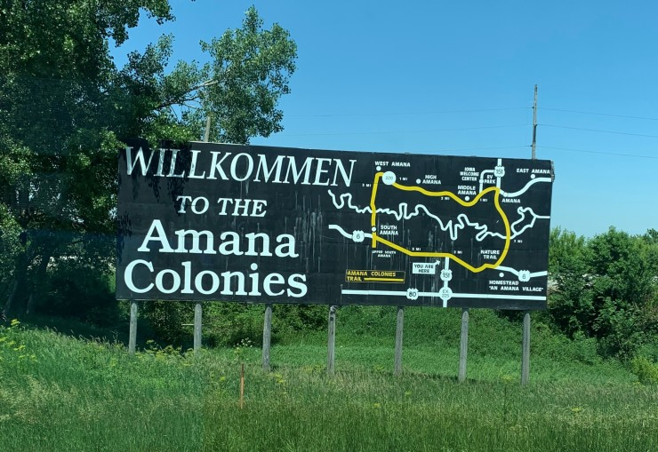 Wel to Amana Colonies